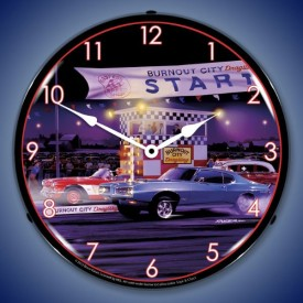 Car Lighted Clocks