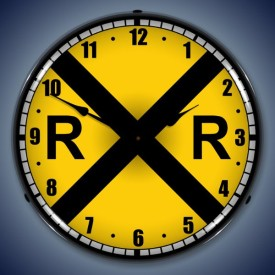 Railroad Lighted Clocks