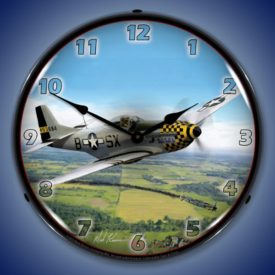 Airplane Lighted Clocks