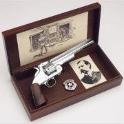 Wyatt Earp Old West Replica Revolver Boxed Display